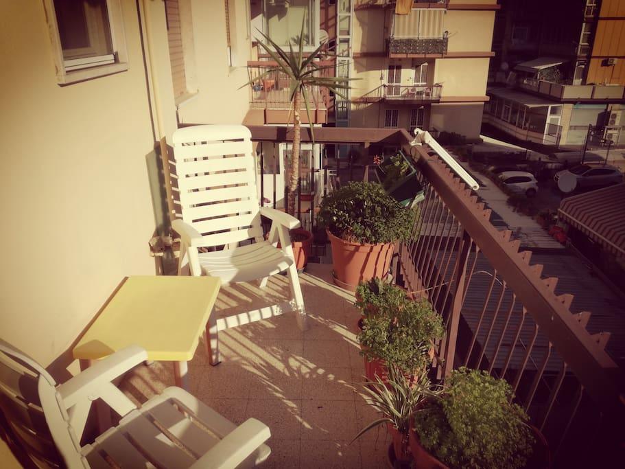 Balcone grande - Large balcony