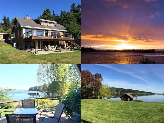 Water Front Retreat on Miller Bay-Poulsbo-Kingston