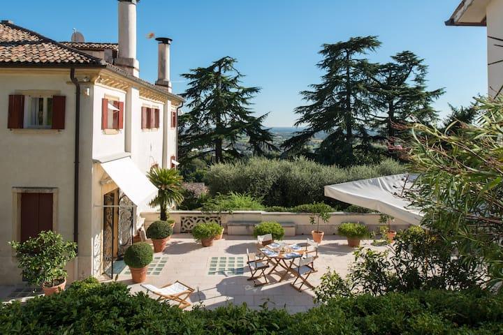 VILLA IL GALERO - Asolo historic residence 1691
