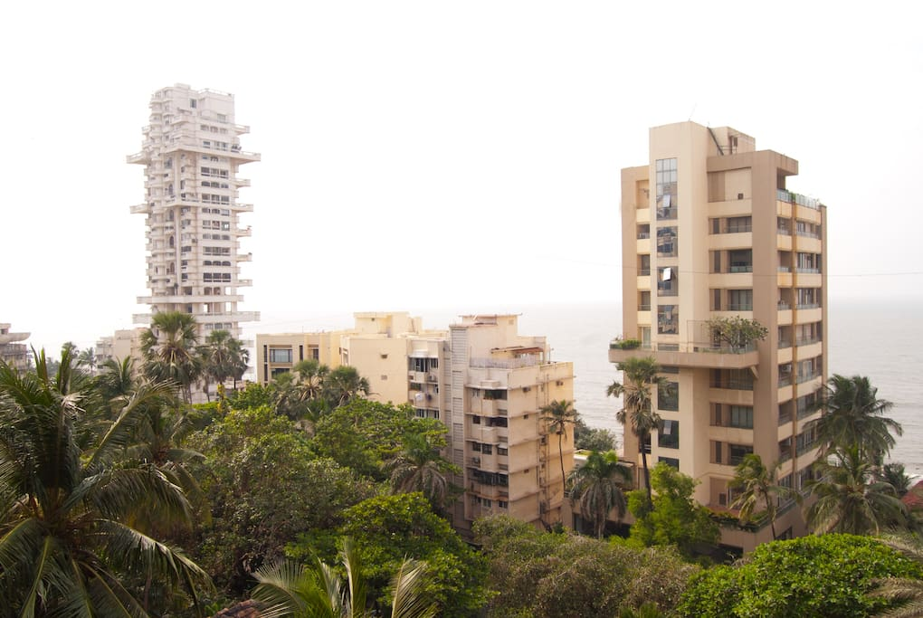 view of bandra from windows
