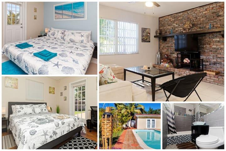 🌴 Ideal Seasonal & Family Retreat - 2 Bedrooms ⭐