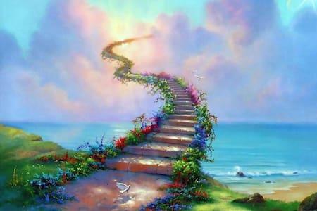 Heaven stairs fake listing - Jordan Valley