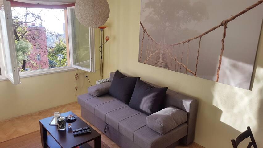 Modern studio for 2