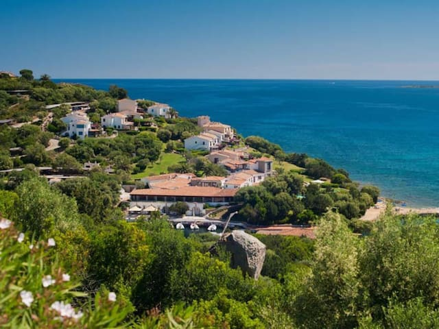 Seaview Room in Resort, Sardinia, Golfo Marinella