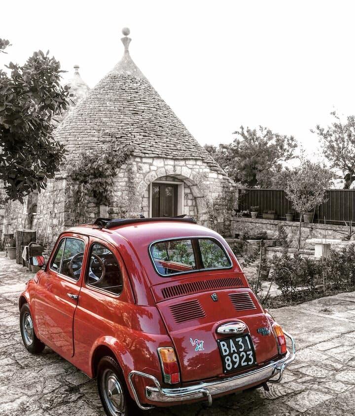 "Beautiful trulli restored ""L'alcova nei Trulli"""