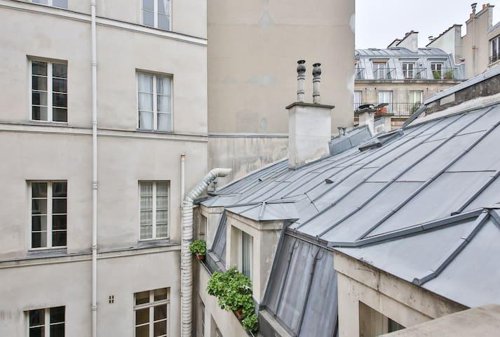 Petit loft au coeur de Paris