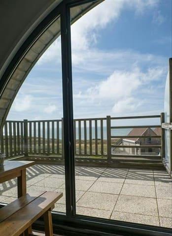 Magnifique duplex cosy vue mer Côte d'Opale - wimereux