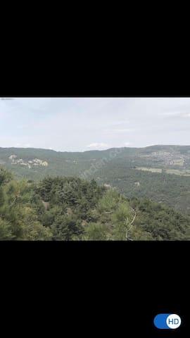 İzmir Bornova dağ evi