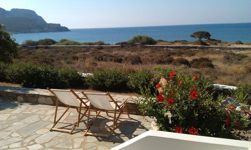 House 1 min from beach - Agios Georgios - Appartement