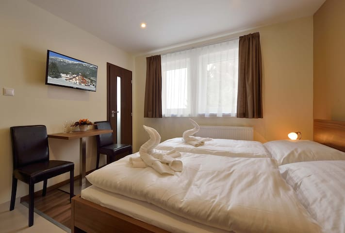 Double room at Villa Gloria