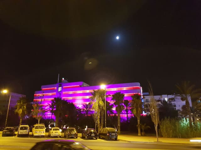 Lux rooms near Pacha