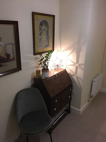 City centre private room with shared living space