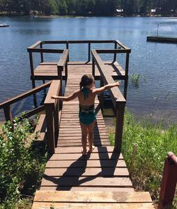 Rustic Lake-Front Cabin