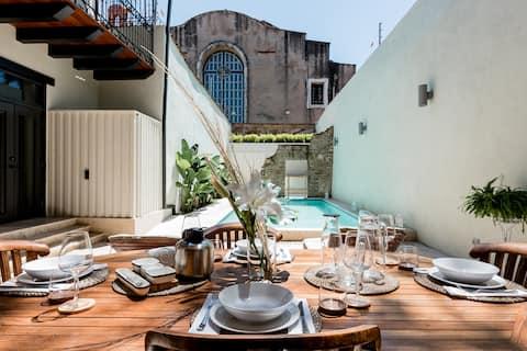 Casa Panteón Casa Colonial de Lujo