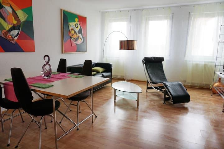 Hübsche Maisonettewohnung mit Loggia für Zwei