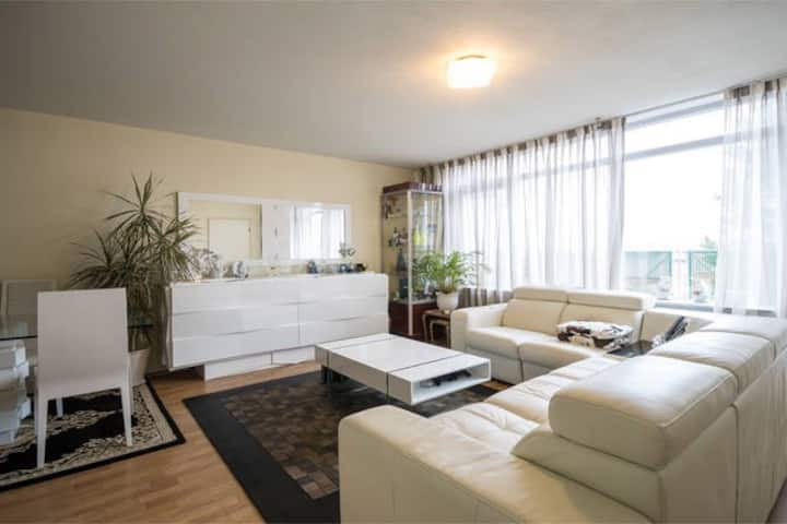 1Bedroom, Living space with Balcony