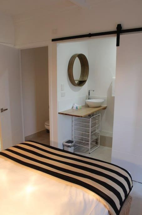 Shower ensuite and toilet
