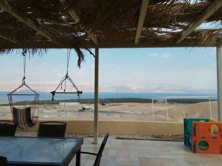 Dead Sea view villa