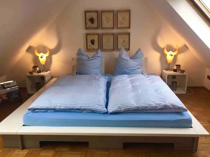 Designer Penthouse 1 Doppelzimmer für 2 Personen