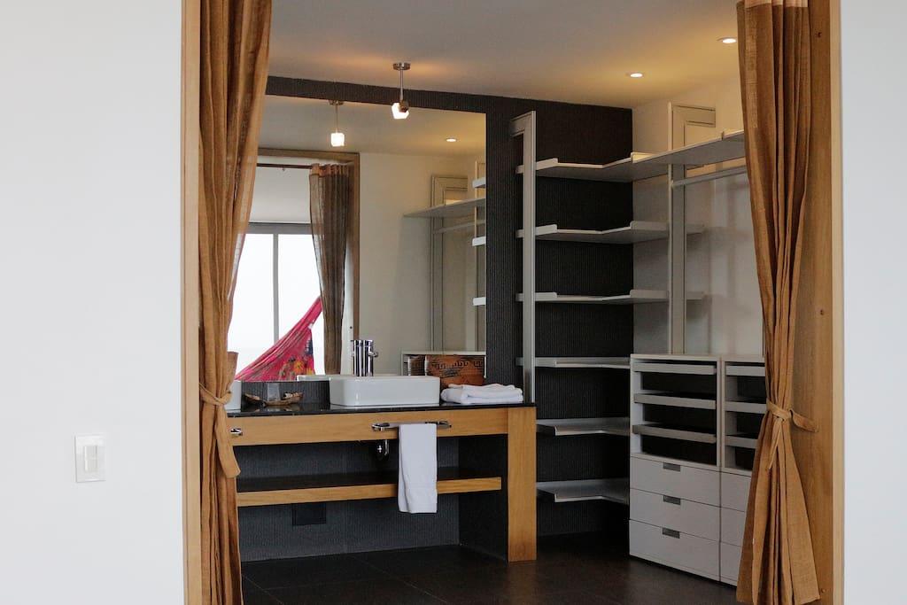Master Bedroom + Bathroom