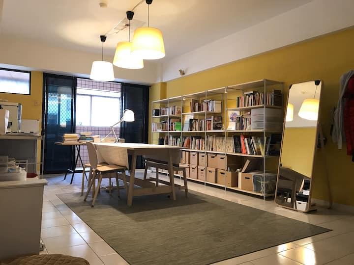 商務實習短月租/含網路水電/免費洗衣機/生活機能完善/Kaohsiung's single room