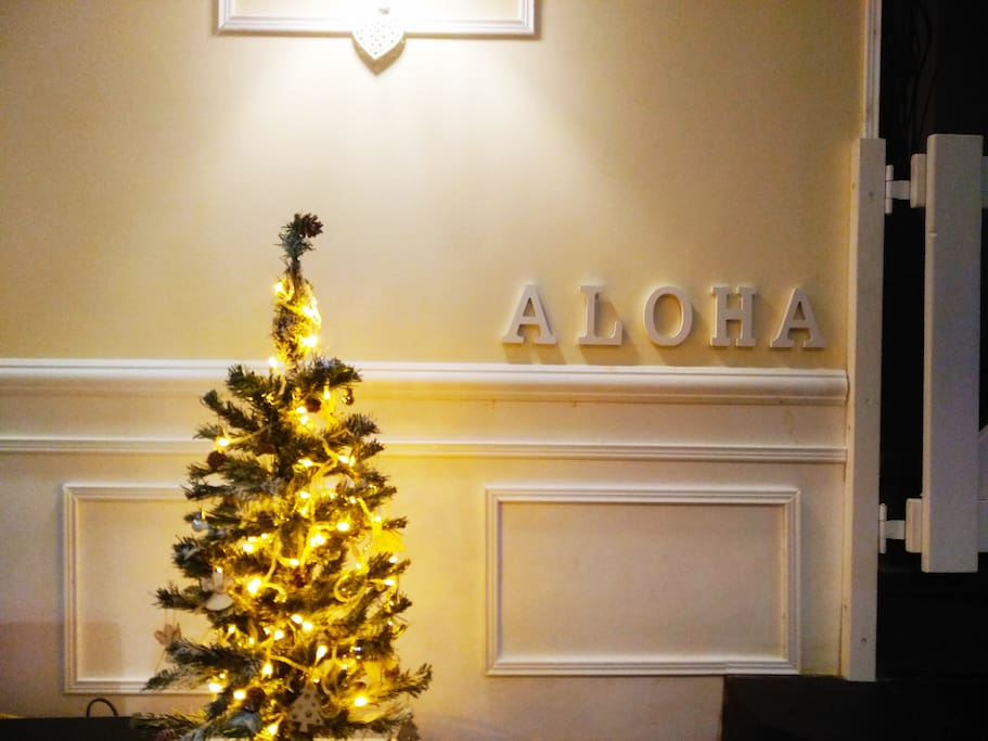 Merry Christmas from aloha house. Our style