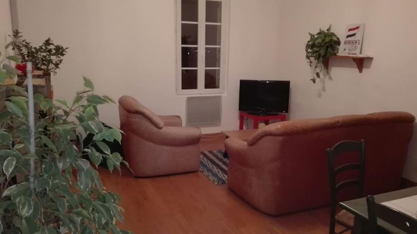Chambre dans appart centre ville - Le Bugue - Apartment