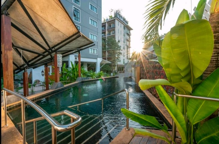 🛌Studio Condo, 5 mins to Nimman by Car
