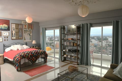Apartment Vintage -Best Area Santa Cruz