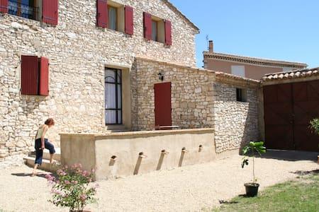 Gite de charme provencal - Méthamis - Huis