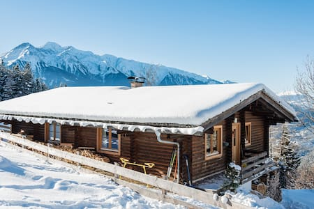 Romantic Chalet with fantastic view - Telfs - Lomamökki