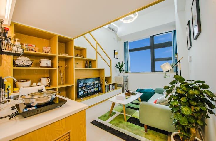 厦门-优家假日 6号短租民宿公寓 BRT、机场、商场沿线复式 - Xiamen