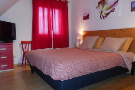 Chambre dans maison entre Mulhouse et Colmar - Pulversheim - Haus