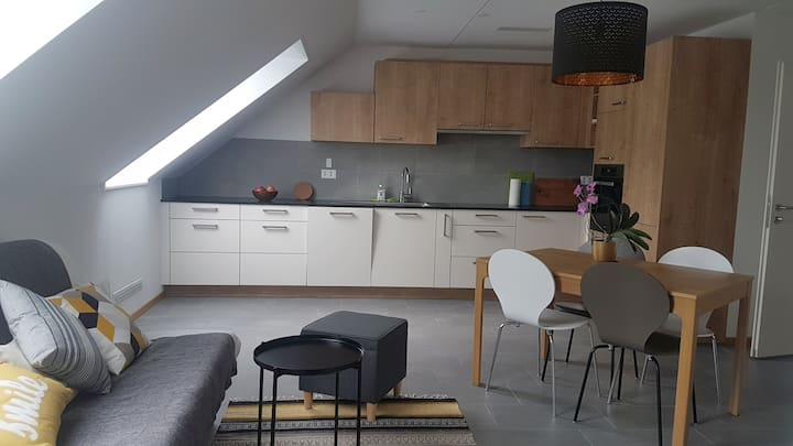 Appartement mansardé pour 2 à 6 personnes