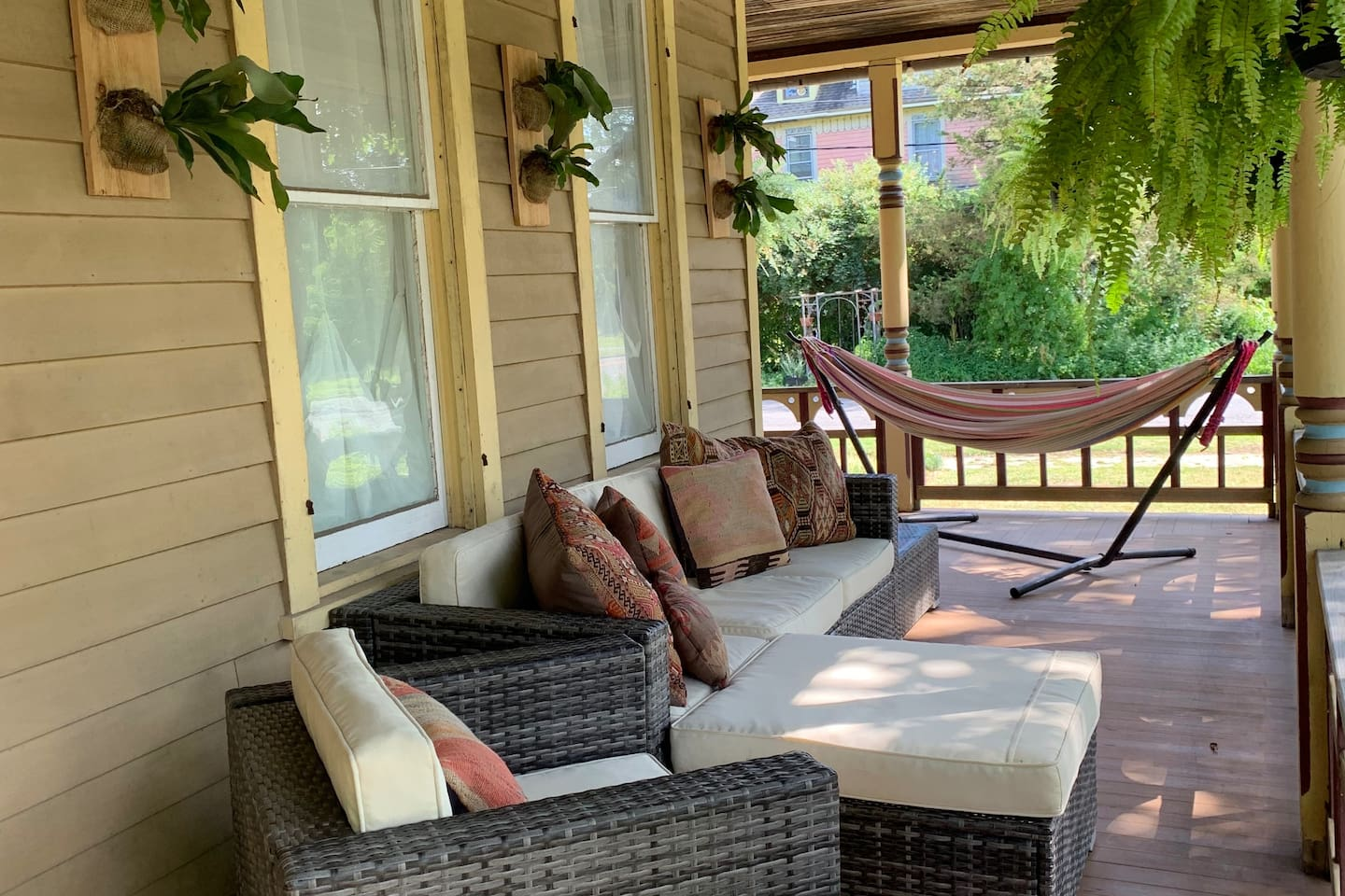 Lounge on the wrap around porch