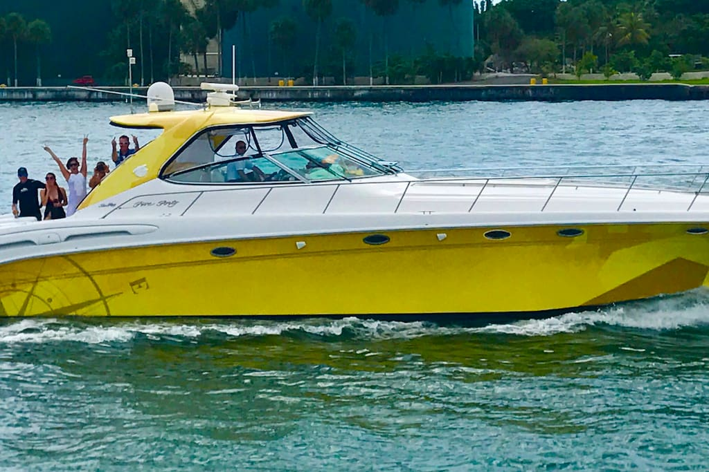 54' Sea Ray - Yacht Rental @ Miami Boat Experts - Charters | Management | Crew | Supplies | Miami | Florida Keys | The Bahamas
