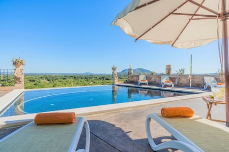 Fantastic Villa Son Chete with Infinity Pool - Búger