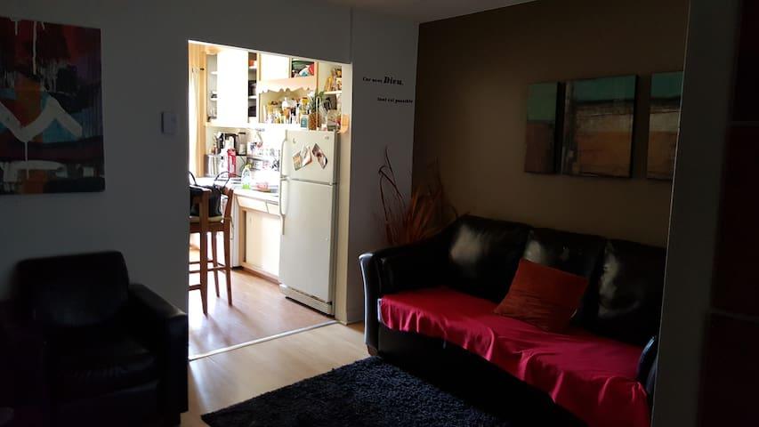 Superbe Appartement 1 chambre ferme - Montreal - Apartamento