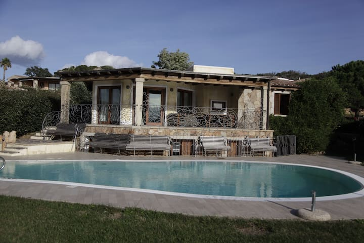 Villa Sole & Mare with pool & sea view - Capo Coda Cavallo - Vila