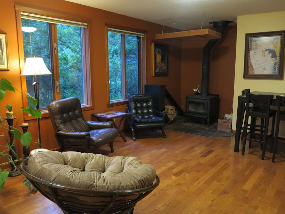 Guest Living Space - Cool in the Summer, Toasty Warm in the Winter