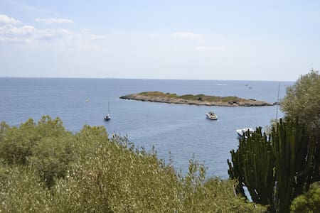 Great views to Illetas Island!