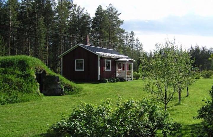 Charmig stuga i naturskön omgivning, FREE WIFI
