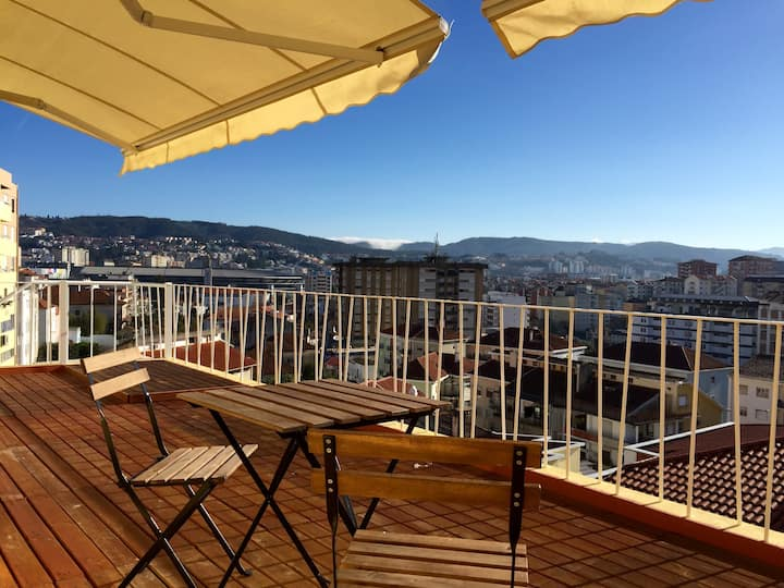 Great apartment with balcony 5B