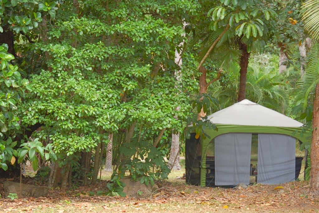 Private and beautiful camp sites