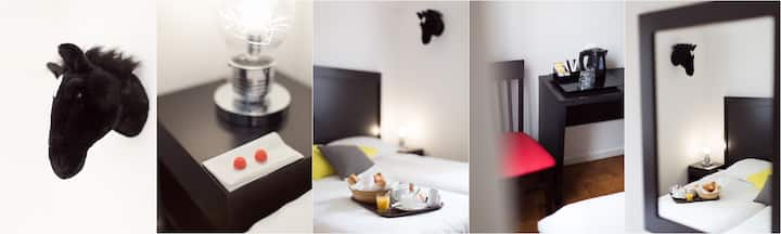 Hôtel Esperanto** - Chambre Standard Twin