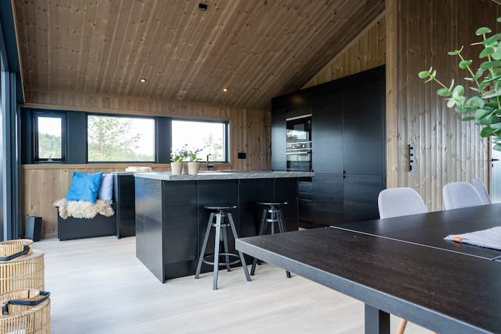 New, modern, cosy hut close to Norefjell Ski & Spa