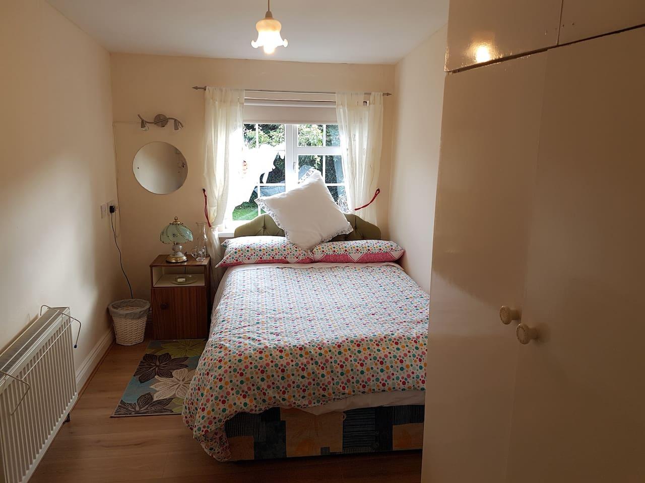 The bedroom - you will not believe how quiet it is in here!