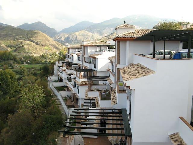 apartamento con piscina y vistas - Granada - Apartamento