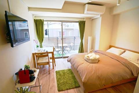 New Double Room in Tokyo: Skytree & Asakusa 502
