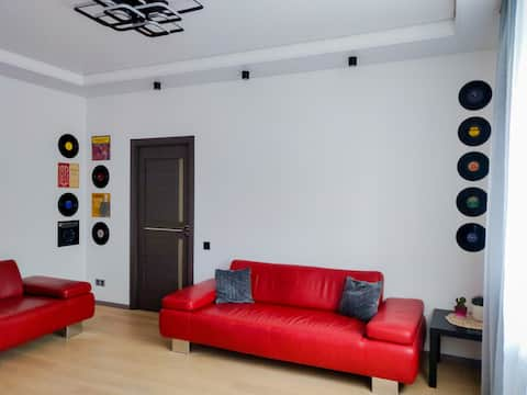 Modern and fully equipped apartment